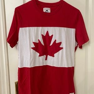 ROOTS - Canada Flag Shirt (Like new)